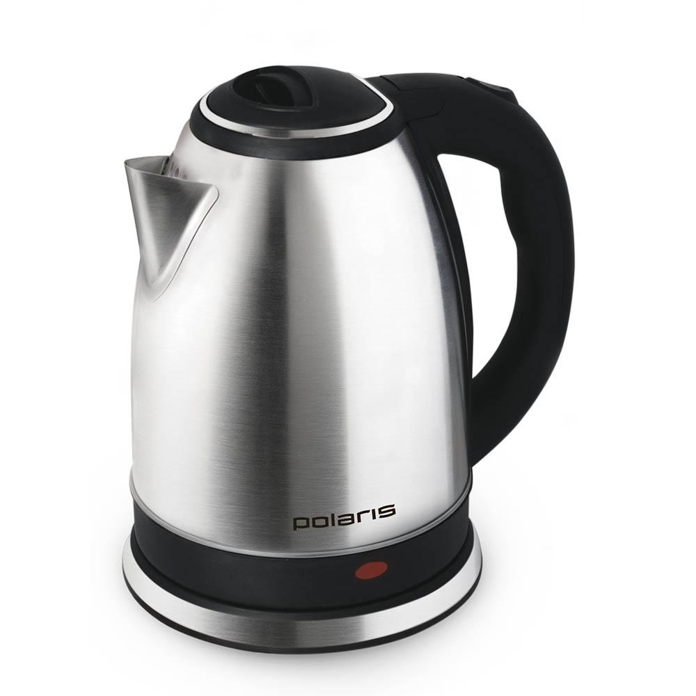 Polaris PWK 1737CA, Black Silver электрический чайник006674Электрический чайник Polaris PWK 1737CA прост в управлении и долговечен в использовании. Изготовлен из высококачественных материалов. Мощность 1800 Вт вскипятить 1,7 литра воды в считанные минуты. Беспроводное соединение позволяет вращать чайник на подставке на 360°. Для обеспечения безопасности при повседневном использовании предусмотрены функция автовыключения, а также блокировка включения без воды.