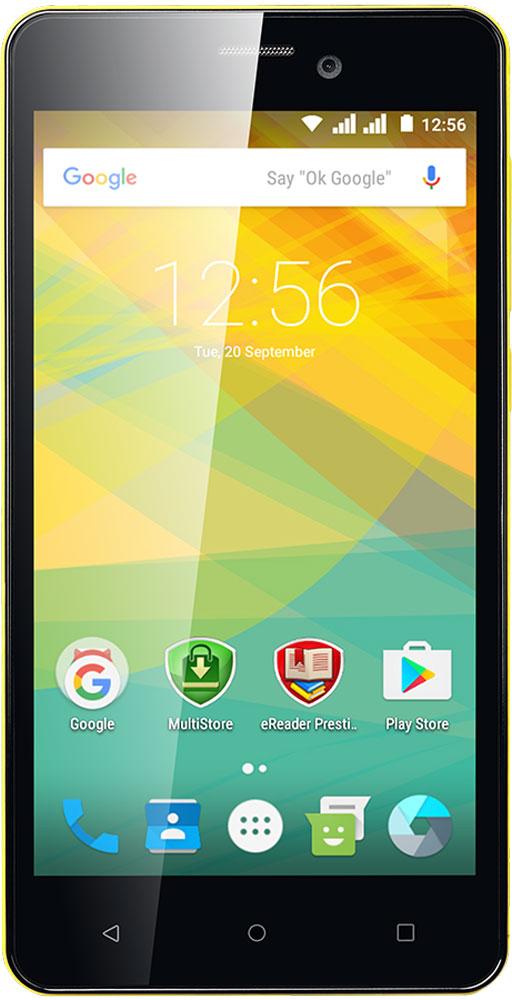 Prestigio Wize NK3, YellowPSP3527DUOYELLOWС новым стильным Prestigio Wize NK3 вы получите больше возможностей и сможете подчеркнуть свой стиль. Доступный по цене, он имеет все необходимые спецификации для решения повседневных задач, таких как просмотр, чтение, игры и работа с документами, а благодаря широкому экрану все действия становятся удобными и более эффективными. Этот смартфон - не только великолепный помощник, это и стильный аксессуар: среди большого разнообразия оттенков вы точно найдете тот, который подойдет вам идеально! Независимо от того, какой стиль вы выбираете в повседневной жизни, среди расцветок Wize NK3 обязательно найдется та, которая подойдет вам. Выберите свой вариант: классический черный, глубокий темно-синий, гламурный золотой, роскошный медно-серый, чистый белый или один из ярких оттенков (оранжевый, желтый или зеленый). Подчеркните ваш стиль, и каждый раз, беря в руки свой модный смартфон, дарите себе хорошее настроение. Какая основная характеристика для...