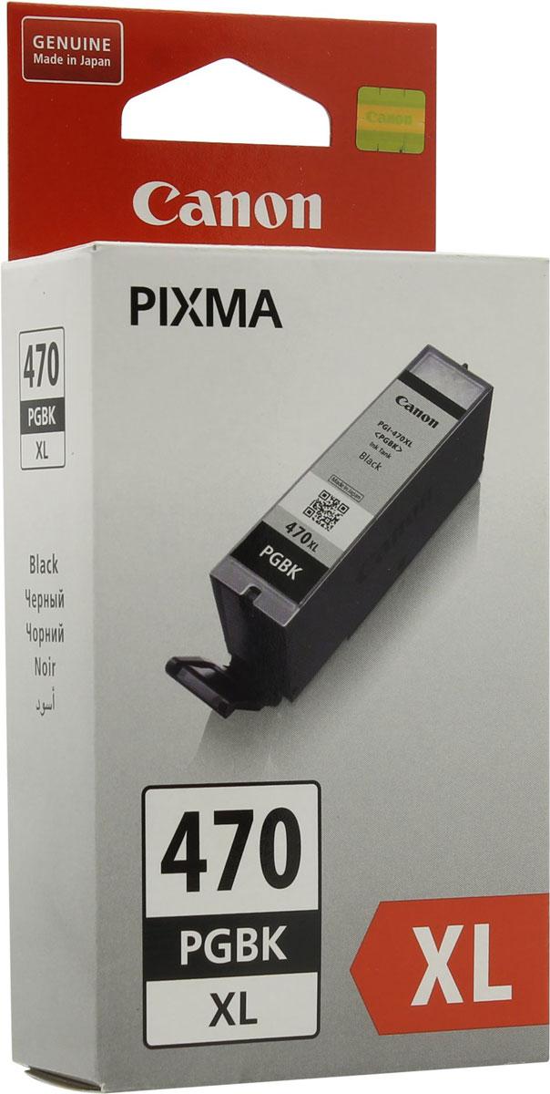 Canon PGI-470XL, Black картридж для PIXMA MG5740/MG6840/MG77400321C001Оригинальный картридж Canon PGI-470XL с оригинальными чернилами гарантирует профессиональный вид печатаемых документов и высокую производительность. Надежная печать без проблем. Точная цветопередача и быстрое высыхание. Для получения красивых и долговечных отпечатков сделайте выбор в пользу чернил Canon.