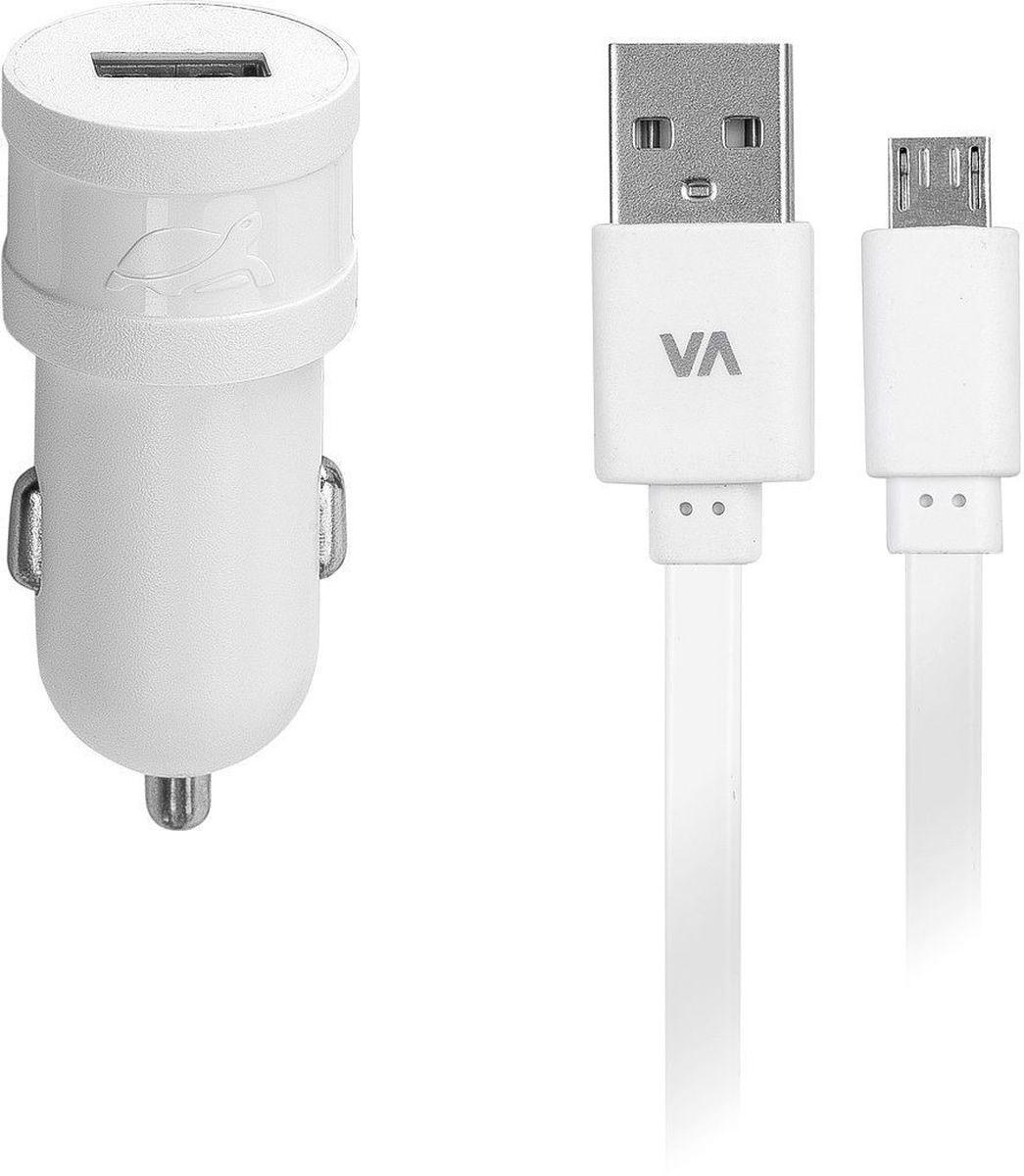 Rivapower VA4211 WD1, White автомобильное зарядное устройствоVA4211 WD1Универсальное автомобильное зарядное устройство Rivapower VA4211 BD1 совместимо со всеми устройствами, использующими USB порт для зарядки своих аккумуляторов. Высококачественные компоненты, встроенные фильтры, защита от скачков напряжения, защита от перегрузки, перегрева и короткого замыкания делают процесс зарядки быстрым, эффективным и безопасным. Корпус сделан из негорючего пластика, устойчивого к механическим повреждениям. Ультра компактные размеры зарядного устройства позволяют использовать его даже в автомобилях с ограниченным пространством вокруг автомобильного разъема электропитания. В комплект входит дата-кабель microUSB длиной 1 метр.