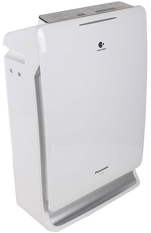 Panasonic F-VXF35R-S очиститель воздухаF-VXF35R-SPanasonic F-VXF35R-S - воздухоочиститель, который обеспечивает наиболее комфортный уровень влажности воздуха. Уникальная технология Nanoe защищает ваше здоровье и сохраняет красоту. Данная модель также очищает комнатную среду путем мощного всасывания воздуха в том числе в 30 см от пола - там, где играют дети. Panasonic F-VXF35R-S обеспечивает очищение воздуха от аллергенов, вирусов, бактерий и неприятных запахов. Предусмотрена индикация необходимости замены фильтра, чистоты и влажности воздуха. Благодаря ночному режиму осуществляется работа комплекса с низким уровнем шума в течение 8 часов для комфортного сна.