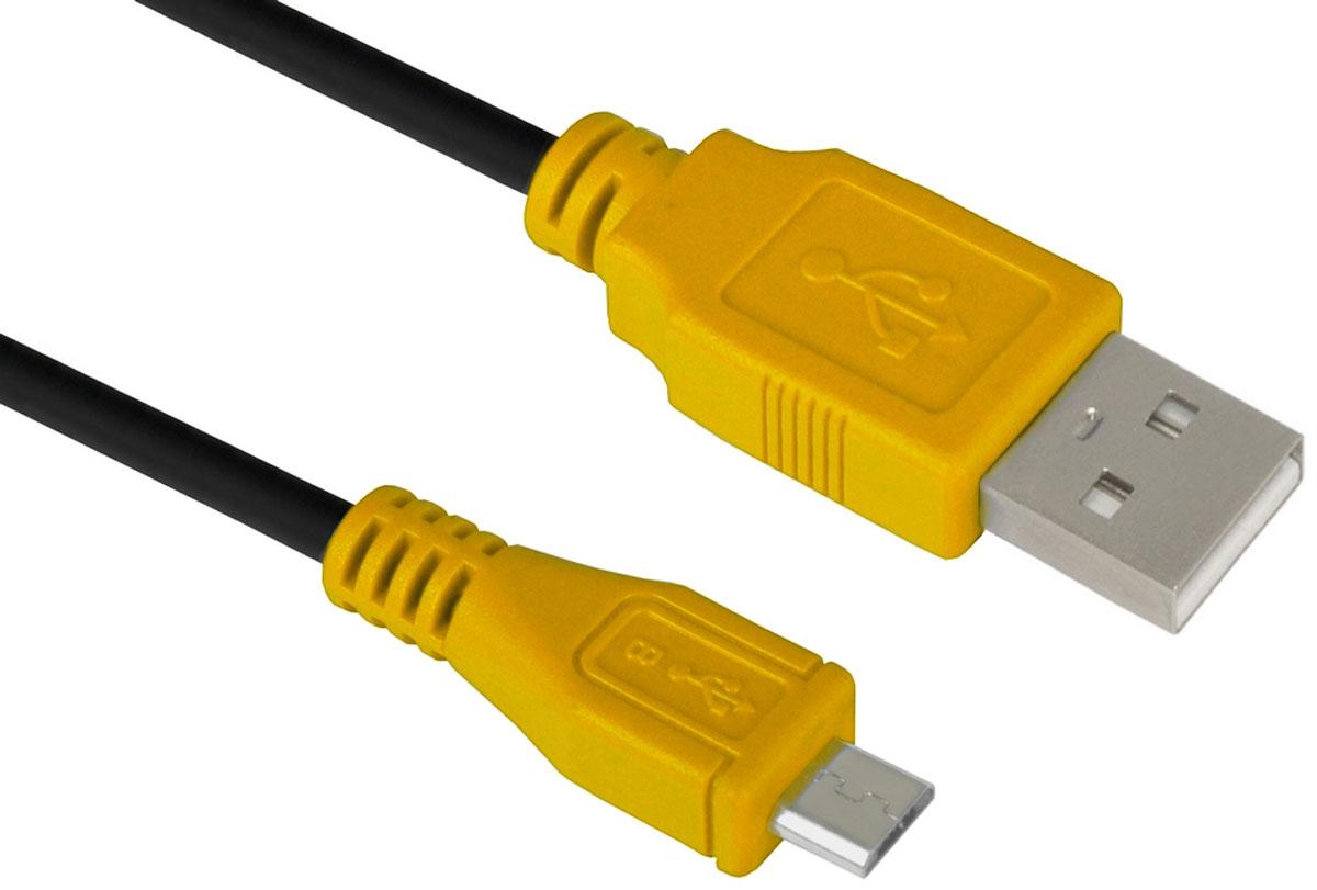 Greenconnect GCR-UA3MCB1-BB2S кабель microUSB-USB (1,5 м)GCR-UA3MCB1-BB2S-1.5mКабель micro USB 2.0 Greenconnect GCR-UA3MCB1-BB2S позволит подключать мобильные телефоны, смартфоны, планшеты и другие USB устройства с разъемом micro USB к ПК, ноутбукам, и Macbook.С помощью этого кабеля можно легко передавать музыку, фото, видео ролики, фильмы, файлы с ПК на мобильное устройство и обратно.Одновременно с передачей данных, кабель USB 2.0 может сократить время зарядки USB устройств до 1,5 часов.Пропускная способность интерфейса: до 480 Мбит/сТип оболочки: PVC (ПВХ)