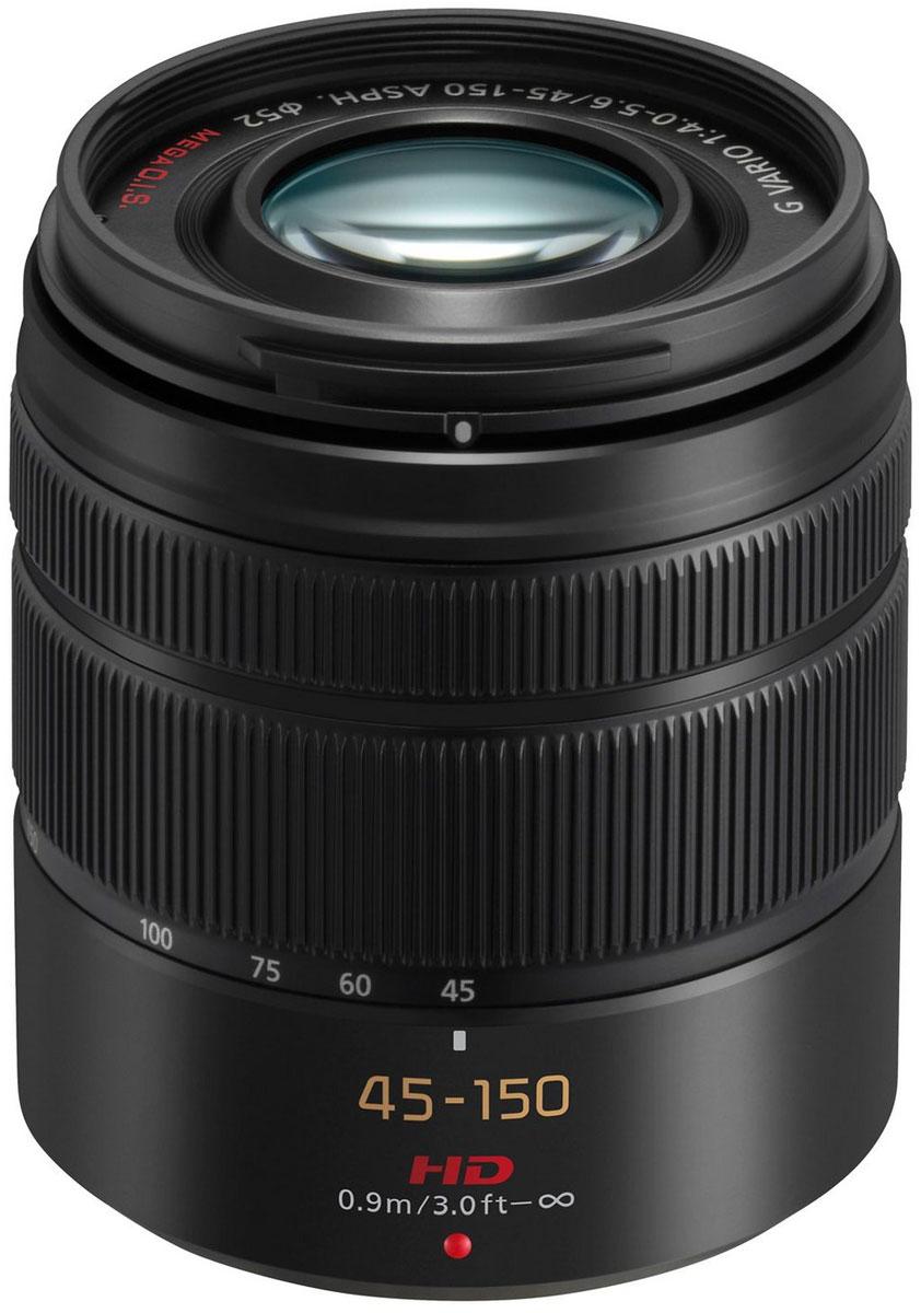 Panasonic Lumix G Vario 45-150mm/F4.0-5.6, Black телеобъектив (H-FS45150E-K)
