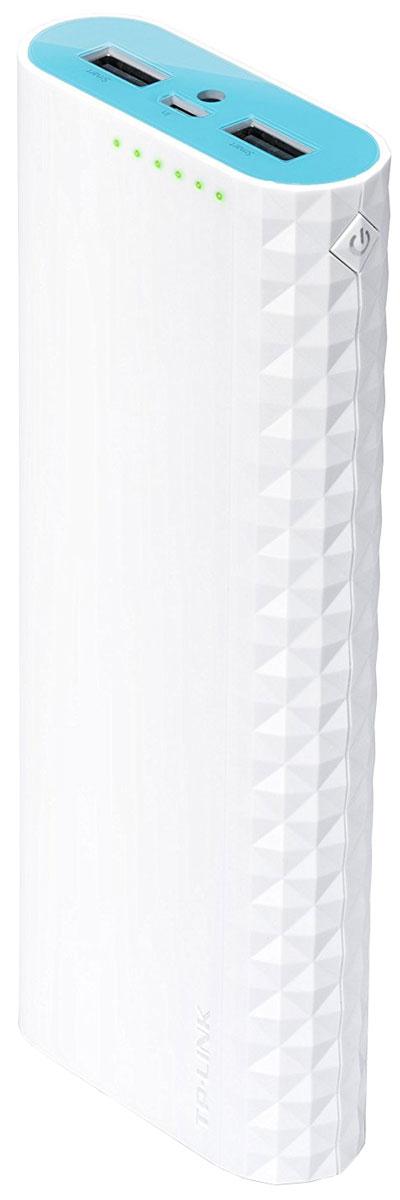TP-Link TL-PB15600, White Blue внешний аккумулятор