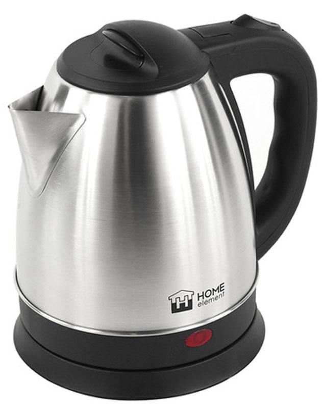 Home Element HE-KT175, Black Silver электрический чайник