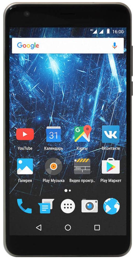 """Highscreen Easy XL Pro, Brown23854Highscreen Easy XL Pro - простой и доступный смартфон с большим и ярким экраном, поддержкой 4G/LTE и ГЛОНАСС. Матовый корпус имеет прекрасную эргономику и сбалансированные размеры. Яркий и контрастный 5.5'' HD-экран, выполненный по технологии OnCell, обеспечивает естественную цветопередачу и моментальный отклик. Скругленные края (2.5D) помогают легче и быстрее взаимодействовать с ним. Highscreen Easy XL Pro работает на базе """"чистого"""" Android Marshmallow, компания преднамеренно не ставит дополнительные приложения и игры, чтобы не занимать лишнюю память и дать вам свободу выбора. Ощутите всю прелесть точной навигации, ты сможешь точно определять свое местоположение и быстро прокладывать маршруты из точки A в точку B. Вы сможете управлять домашней техникой благодаря встроенному ИК-порту в твоем Easy XL, просто загрузив специальное приложение из Google Play. Телефон сертифицирован EAC и имеет русифицированный интерфейс меню и..."""