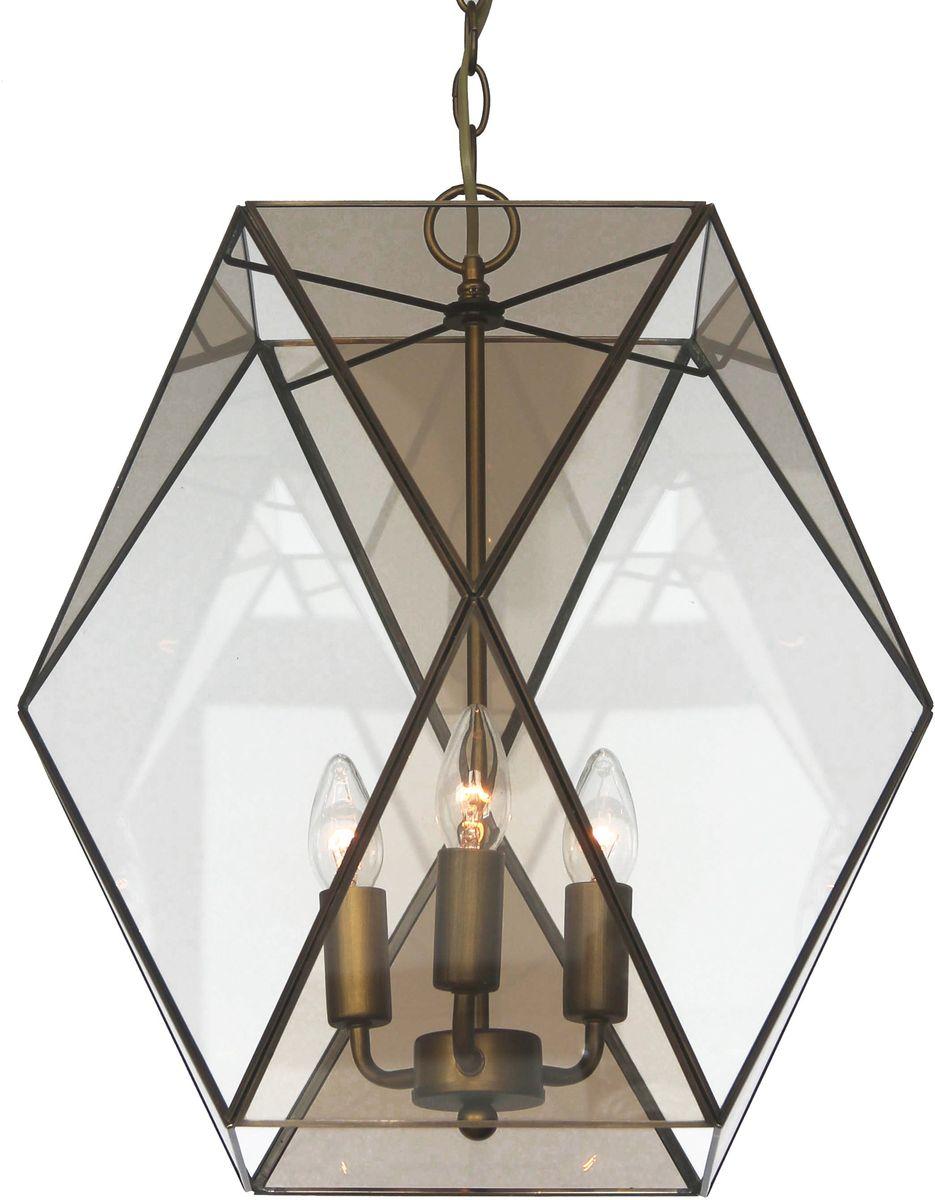 Светильник подвесной Favourite Shatir, 3 х E14, 40. 1629-3P1629-3P