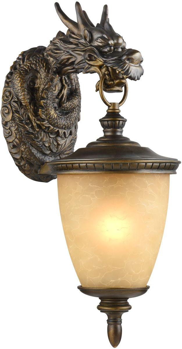 Cветильник уличный настенный Favourite Dragon, 1 х E27, 60W. 1716-1W1716-1W