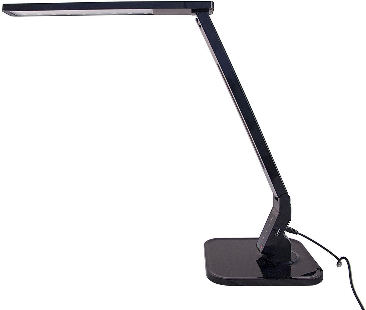 Лампа настольная Лючия Smart, светодиодная, цвет: черный, 11W. L700 настольная лампа лючия pegas цвет черный 4 w