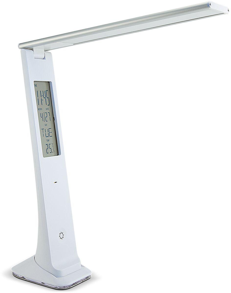 Лампа настольная Лючия Carina, светодиодная, цвет: белый, 2W. L540 настольная лампа лючия pegas цвет черный 4 w