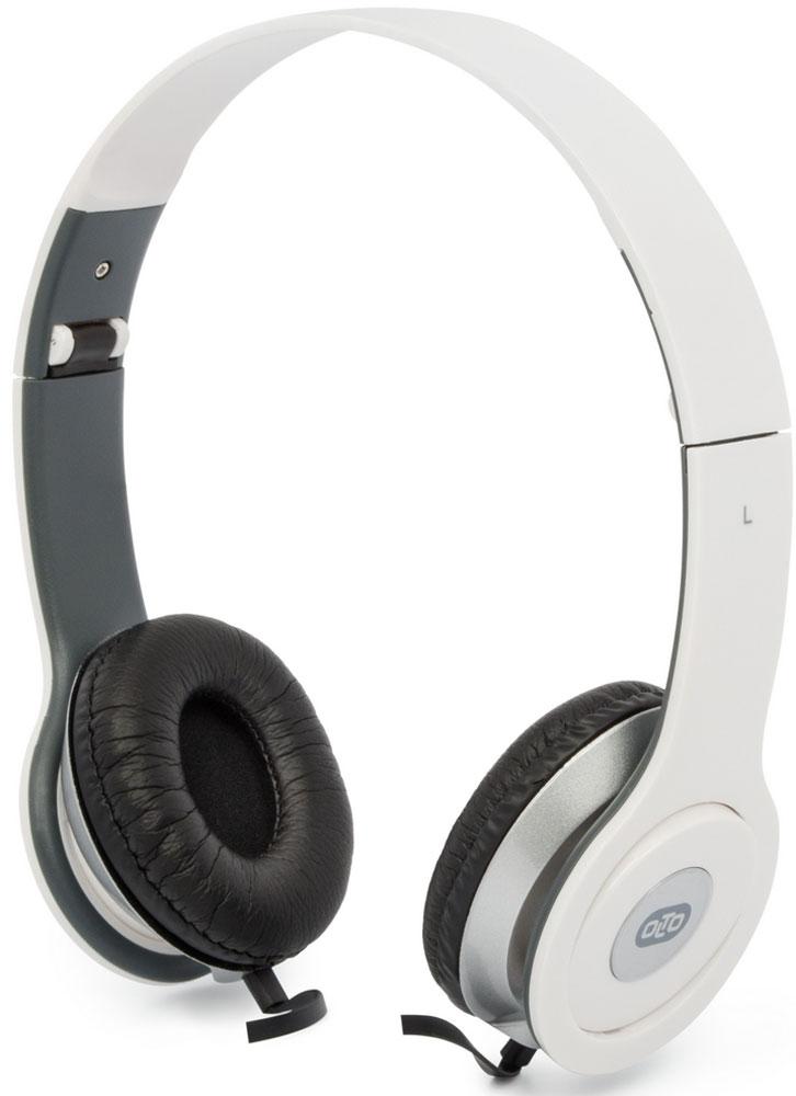 OLTO VS-15, White наушникиO00001295Накладные наушники OLTO VS-15 с отличным качеством звучания. Оснащены встроенным микрофоном, а также пультом для быстрого и удобного переключения между музыкой и вызовами. Подключив их к своему смартфону или планшету вы сможете не только наслаждаться любимой музыкой, но и с легкостью ответить на звонок, не доставая гаджет. Особенностью данной модели является плоский кабель с защитой от спутывания, который не перекручивается и не завязывается в узлы. Кроме того, L-образный штекер наушников OLTO VS-15 также обеспечивает еще большую прочность и долговечность кабеля. Стоит также отметить наличие специального зажима, который помогает надежно закрепить кабель.
