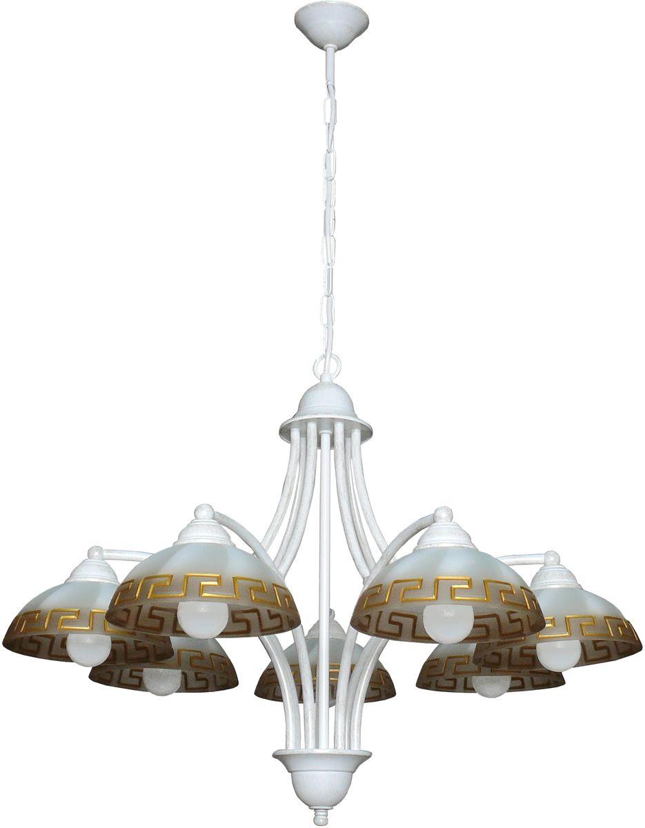 Люстра подвесная Аврора Афина, 7 х E14, 60 W. 10053-7L10053-7L