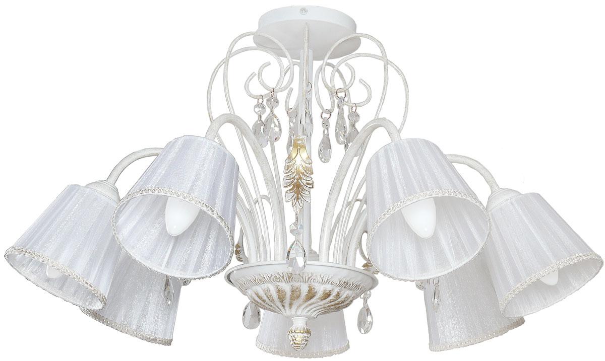 Люстра потолочная Аврора Шанель, 7 х E14, 60 W. 10060-7L10060-7L