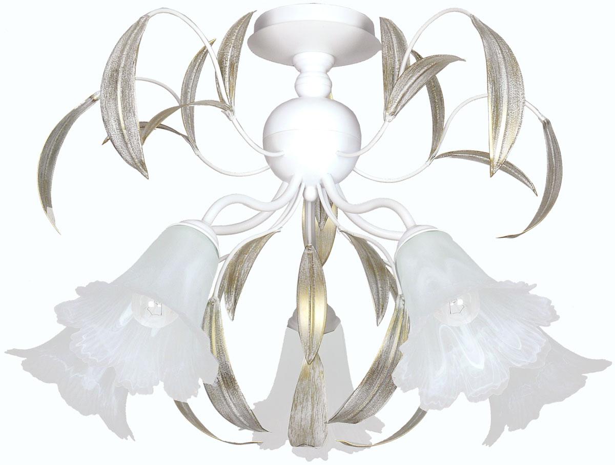 Люстра потолочная Аврора Майя, 5 х E14, 60 W. 10121-5C10121-5C
