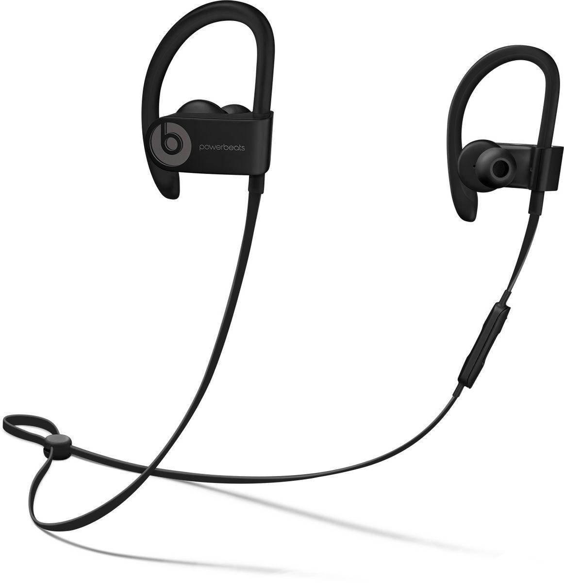 Beats Powerbeats 3 Wireless, Black наушникиML8V2ZE/AБеспроводные наушники Powerbeats 3 Wireless работают до 12 часов от аккумулятора - они готовы к любым нагрузкам. С ними вы заряжены на длительные интенсивные тренировки. Их мощный звук даст вам силы и энергию двигаться только вперед. Apple и Beats переворачивают наше представление о музыке с новой технологией Apple W1. Оснащенные встроенным чипом W1 наушники Powerbeats 3 легко подключаются к любому устройству Apple, дольше работают без аккумулятора и заряжаются всего за 5 минут благодаря технологии Fast Fuel. С функцией Fast Fuel вы сможете тренироваться ещё дольше и тратить меньше времени на зарядку. 5-минутной подзарядки будет достаточно для того, чтобы тренироваться под музыку ещё целый час. Тренируйтесь с максимальной отдачей в любую погоду - эти наушники с защитой от влаги и пота зарядят вас энергией для новых достижений. Прокачайте свой плейлист. Система с двумя акустическими головками создает широкий диапазон звука с ...
