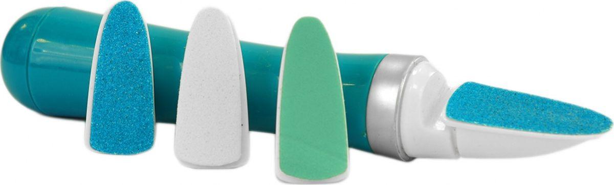 Bradex Электрическая пилка для ногтейKZ 0424Простая в использовании электрическая пилка для ногтей поможет сделать идеальный маникюр и педикюр прямо у себя дома. В набор входят три сменные насадки для подпиливания, шлифовки и полировки ногтей. Пилка работает от одной батарейки типа АА. Материал: АБС пластик, металл, карбид кремния Комплектация: Прибор для ухода за ногтями 1шт, сменные головки 3шт; Размер: 17x3x2.5см Работает от 1 батарейки типа АА (не включена)