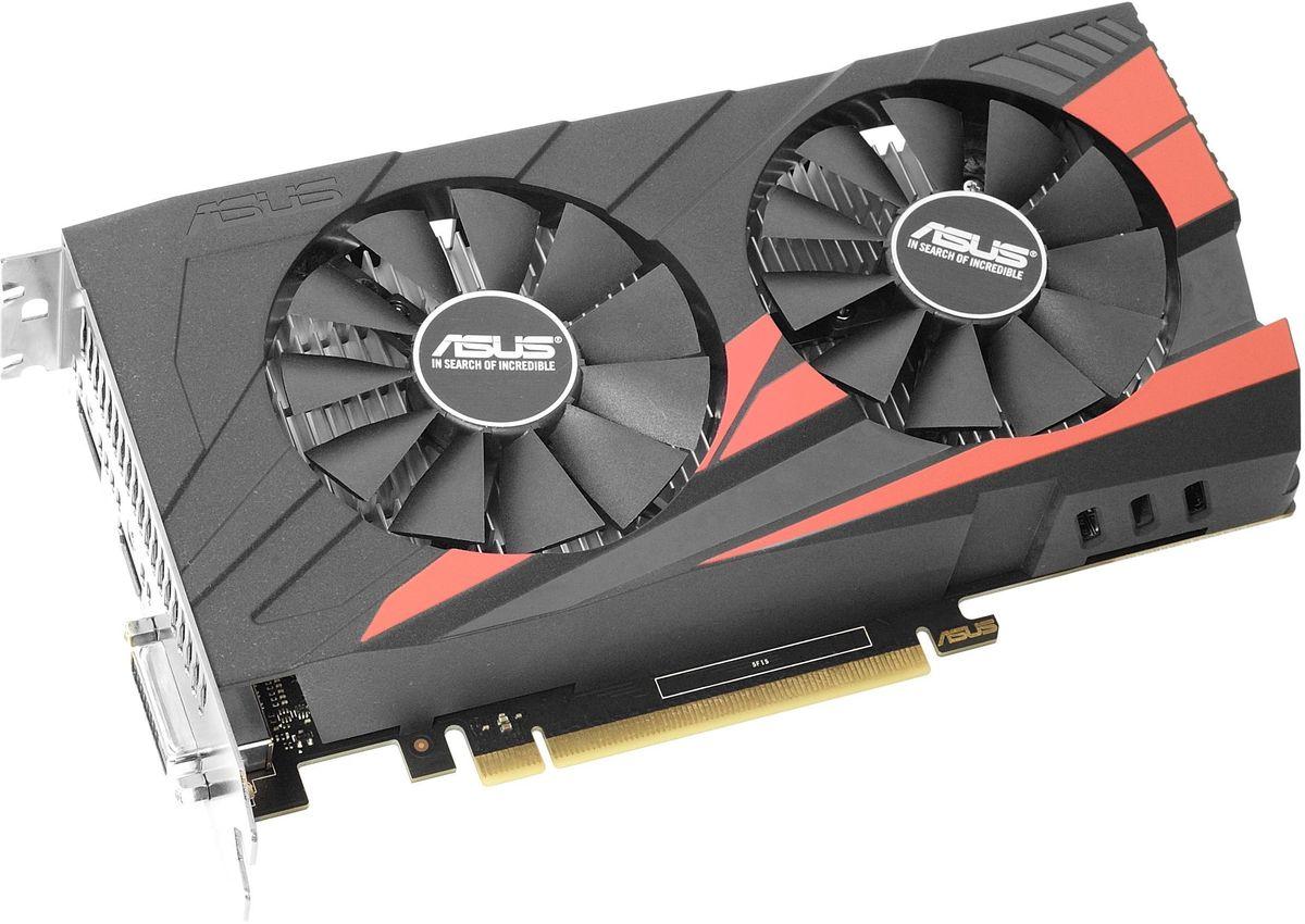 ASUS Expedition GeForce GTX 1050 2Gb видеокарта (EX-GTX1050-O2G) 90YV0A84-M0NA00