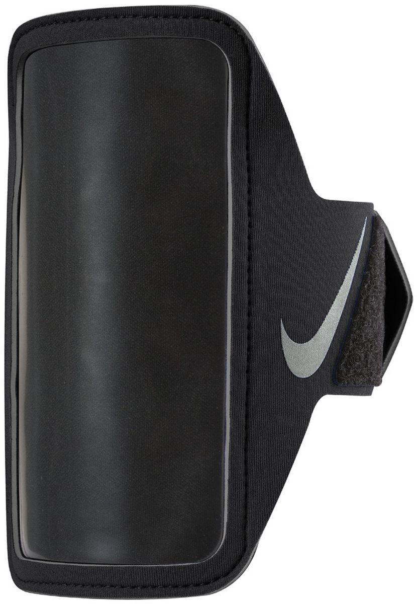 Чехол для телефона на руку Nike Lean Arm Band, цвет: черныйN.RN.65.082.OSСовместим практически со всеми смартфонами.Карман для устройства оснащен удобным входом.Удобная застежка на липучке обеспечивает прочную посадку на руке.Прозрачная защитная пленка не дает царапаться экрану устройства и сохраняет сенсорные свойства.Светоотражающий логотип улучшает видимость при слабом освещении