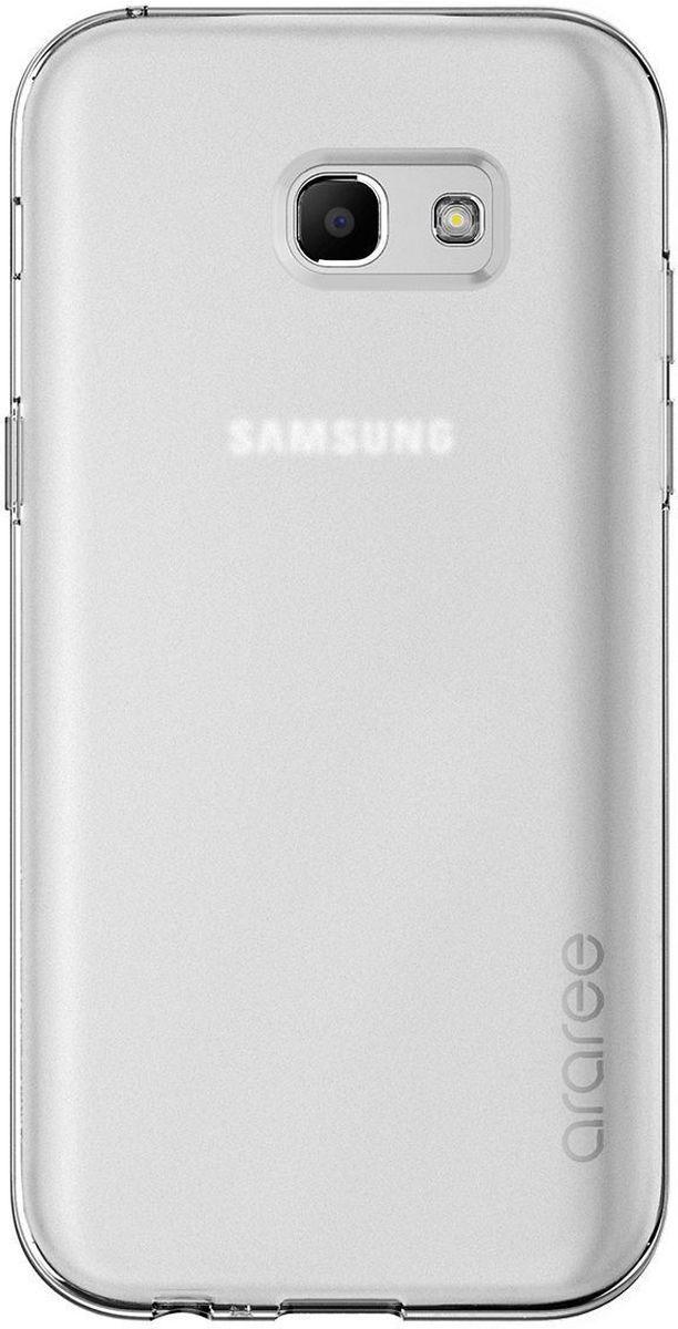 Araree Airfit чехол для Samsung Galaxy A5 (2017), ClearAR20-00205EЧехол-накладка Araree Airfit для Samsung Galaxy A5 (2017) обеспечивает надежную защиту корпуса смартфона от механических повреждений и надолго сохраняет его привлекательный внешний вид. Накладка выполнена из высококачественного материала и плотно прилегает. Чехол также обеспечивает свободный доступ ко всем разъемам и клавишам устройства.