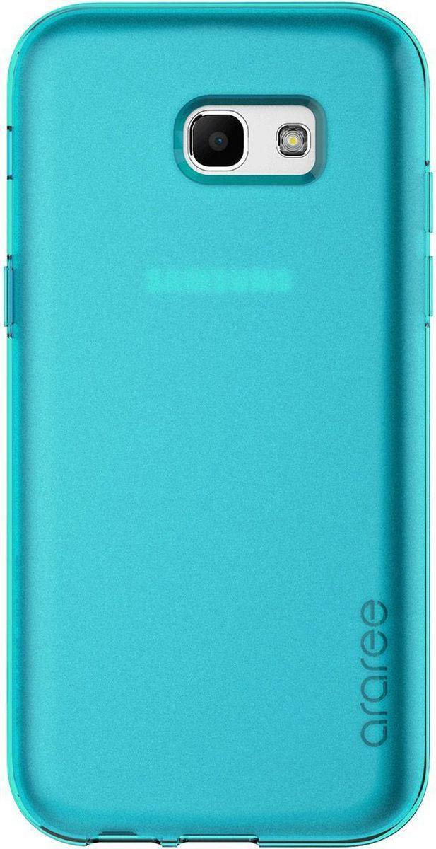 Araree Airfit чехол для Samsung Galaxy A7 (2017), TurquoiseAR20-00206CЧехол-накладка Araree Airfit для Samsung Galaxy A7 (2017) обеспечивает надежную защиту корпуса смартфона от механических повреждений и надолго сохраняет его привлекательный внешний вид. Накладка выполнена из высококачественного материала и плотно прилегает. Чехол также обеспечивает свободный доступ ко всем разъемам и клавишам устройства.