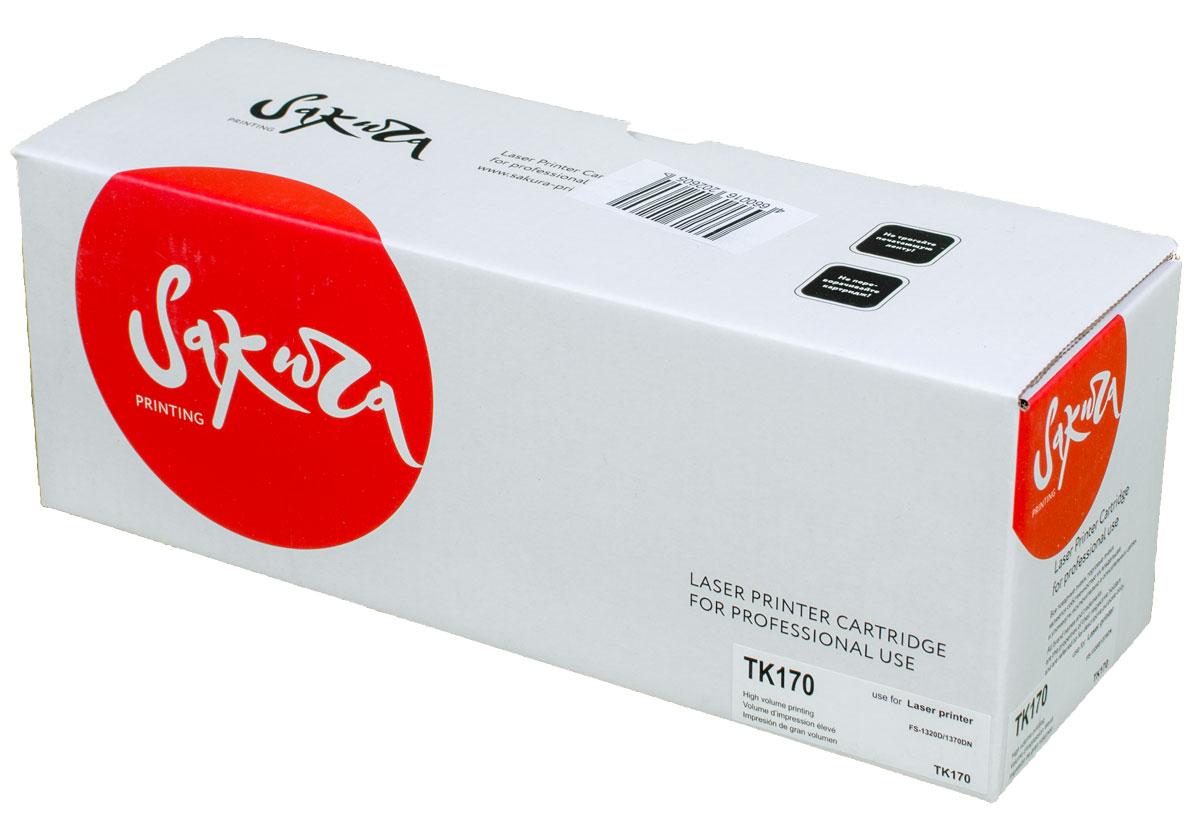 Sakura TK170, Black тонер-картридж для Kyocera FS-1320D/1370DNSATK170Тонер-картридж Sakura TK170 для лазерных принтеров Kyocera FS-1320D/1370DN является альтернативным решением для замены оригинальных картриджей. Он печатает с тем же качеством и имеет тот же ресурс, что и оригинальный картридж. В картриджах компании Sakura используется химический синтезированный тонер, который в отличие от дешевого тонера из перемолотого полимера, не царапает, а смазывает печатающий вал, что приводит к возможности многократных перезаправок картриджей. Такой подход гарантирует долгий срок службы принтера, превосходное качество и стабильность печати. Тонер-картриджи Sakura производятся при строгом соответствии стандартам ISO 9001 и ISO 14001, что подтверждено международными сертификатами.