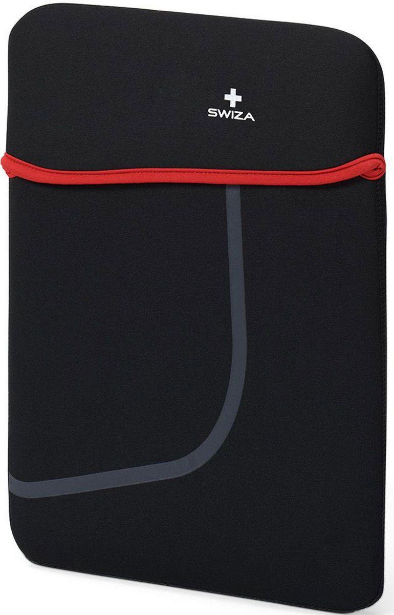 """Чехол для планшета SWIZA """"Moranda"""", цвет: черный, красный, 13"""""""