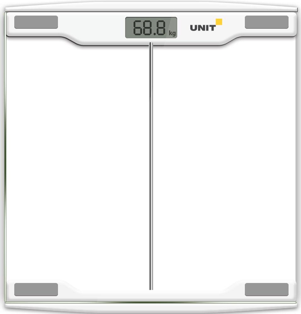 Unit UBS-2054 весы напольные электронныеCE-0462766Напольные электронные весы Unit UBS-2054 - неотъемлемый атрибут здорового образа жизни. Они необходимы тем, кто следит за своим здоровьем, весом, ведет активный образ жизни, занимается спортом и фитнесом. Очень удобны для будущих мам, постоянно контролирующих прибавку в весе, также рекомендуются родителям, внимательно следящим за весом своих детей.