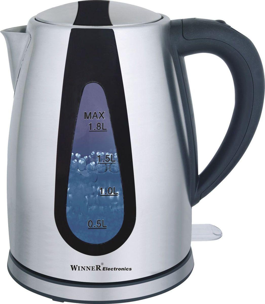 Winner WR-104, Silver электрический чайник winner wr 362