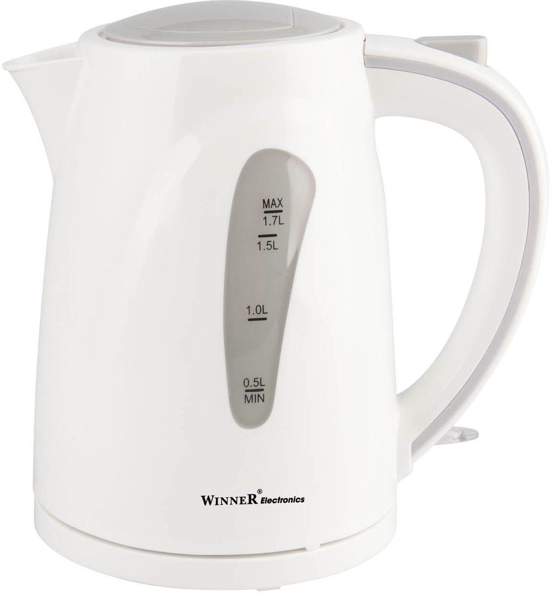 Winner WR-121, White электрический чайникWR-121