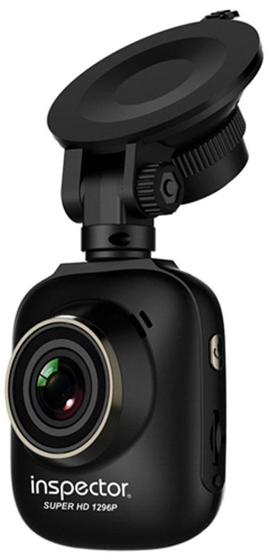 Inspector Storm, Black видеорегистраторStormКомпактный автомобильный видеорегистратор Inspector Storm с разрешением записи до 2304x1296 пикселей. Предназначен для видеофиксации событий, связанных, в основном, с вождением автомобиля. Основная задача видеорегистратора - как можно более полно и четко зафиксировать любые неблагоприятные события, которые могут случиться во время движения автомобиля. Зафиксированные видеорегистратором материалы могут сыграть ключевую роль в спорных ситуациях на дороге.Процессор: Ambarella A7LA50 (700 МГц)Матрица: OmniVision OV4689 (1/3)Фотосъемка: 4 Мп (2688 x 1512) .JPEGОбъектив: f=3.1мм; F/2.0; 6 слоев стекла + IRHDRВвод государственного номера автоАнти-сонЕмкость аккумулятора: 370 мАч