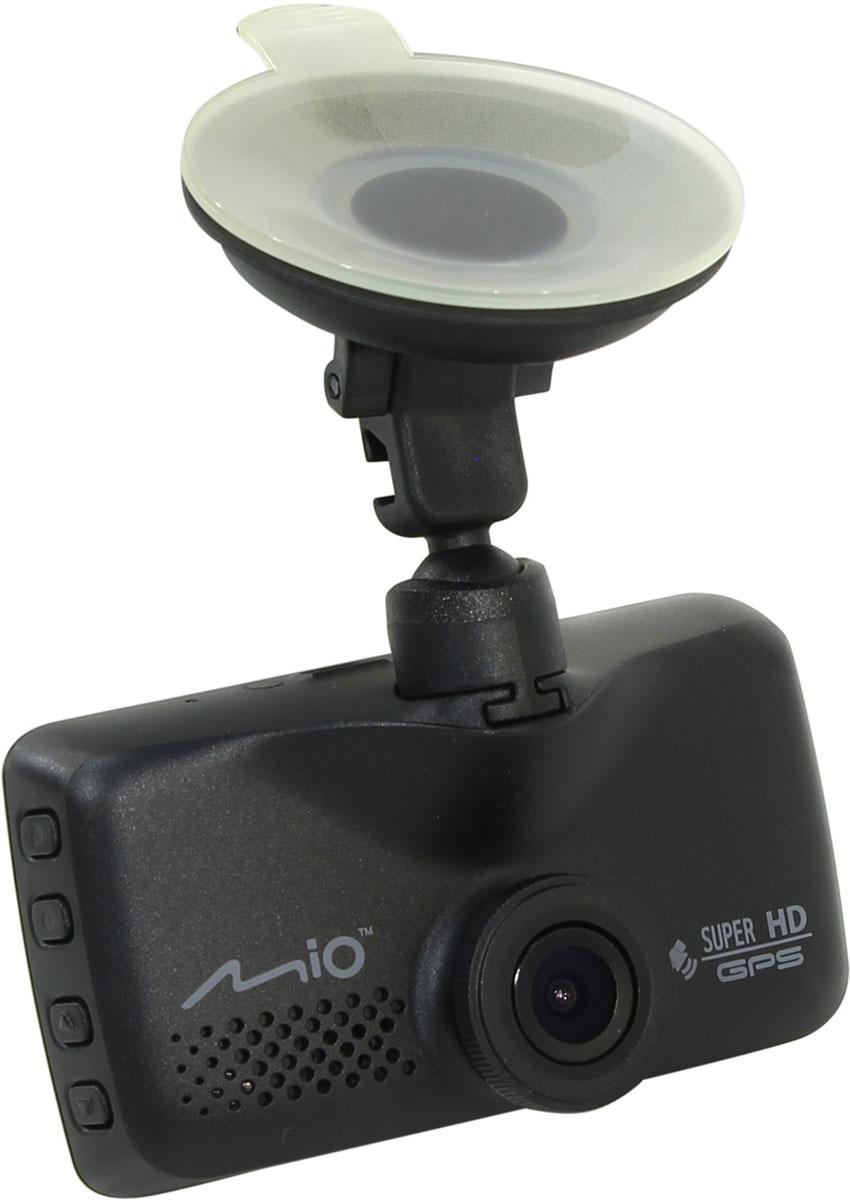 Mio Mivue 658, Black видеорегистраторMiVue 658MiVue 658 — новая модель в линейке видеорегистраторов Mio. Традиционно Mio делает акцент на высоком качестве изображения и четкости записи видео. Объектив состоит из 6 стеклянных линз и дополнен инфракрасным фильтром. Благодаря этому, цветопередача видео становится максимально естественной. Встроенный GPS-приемник обеспечивает работу функции умного оповещения о стационарных камерах контроля скорости. Наличие двух слотов для карт памяти microSD позволяет, в случае необходимости, скопировать файлы на дополнительную карту, что обеспечивает надежное резервное хранение. Широкий угол обзора 130° позволяет получить полную картину всегда и везде. Ручная установка экспозиции видеорегистратора позволяет в сложных условиях освещённости, таких как снегопад или яркие солнечные лучи, регулировать яркость видео. Чтобы не отвлекать Вас во время вождения, на дисплее будет указана текущая скорость движения и точное время. При приближении к камерам...