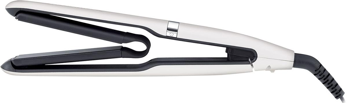 Remington Air Plates, White Black выпрямитель для волосS 7412Выпрямитель Air Plates обладает уникальными подвешенными аэро-пластинами, которые обеспечивают свободное движение по пряди волос и обеспечивают максимальный контакт за одно движение. Технология cool touch, воплощенная в революционном дизайне прибора, препятствует нагреву внешнего корпуса, что позволяет полностью захватить прибор для лучшего контроля и результатов. Пластины выпрямителя содержат в 10 раз больше керамики и выполнены с добавлением роскошной черной керамики. Свободное и простое скольжение по волосам и идеальный результат выпрямления, который сохраняется надолго. Нагрев выпрямителя происходит всего лишь за 15 секунд. Подходит для любого типа волос: выпрямитель обладает 5 режимами регулировки температуры 150° – 230° и вы сможете с легкостью настроить нагрев под ваш тип волос.