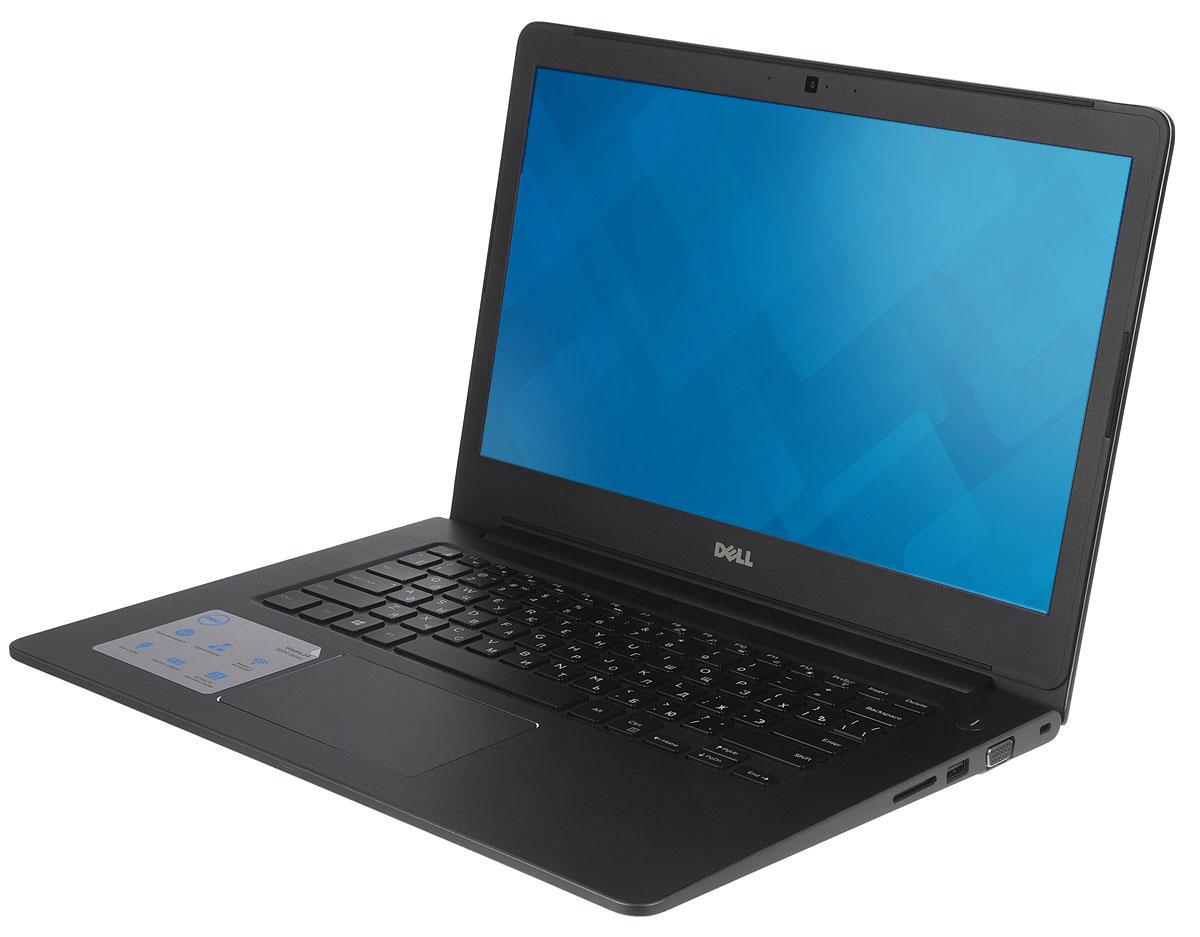 Dell Vostro 5468, Grey (5468-8012)5468-801214-дюймовый ноутбук Dell Vostro 5468 с процессором Intel Core i3 позволит вам в любое время сразу приступить к работе.Этот супертонкий ноутбук не только невероятно прочный, но и обладает стильным внешним видом. Красота Vostro 5468 - в деталях. Если вас завалило электронной почтой, высококачественная полноразмерная резиновая клавиатура и мультисенсорная панель с распознаванием жестов помогут вам легко и быстро ответить на любое письмо. Тонкий и легкий. Толщина устройства - всего 18,5 мм, а вес составляет всего лишь 1,59 кг. Компактный и изящный ноутбук Vostro 5468 можно легко положить в сумку и взять с собой куда угодно. Стереосистема формата 2.1 с поддержкой Waves MaxxAudio обеспечивает высокую четкость звука при воспроизведении музыки, просмотре видео и участии в конференциях. Vostro 5468 поддерживает аудио-решения Waves MaxxAudio, которые повышают качество звучания двух встроенных динамиков и сабвуфера.Легкость общения. Общайтесь с коллегами, родственниками и друзьями с помощью веб-камеры высокой четкости (720p) и встроенных микрофонов.Простота подключения. Подключайте устройства через разъем HDMI и три порта USB 3.0. Функция PowerShare позволяет заряжать внешние устройства через порт USB, даже когда ноутбук выключен.Быстрая передача данных. Встроенный порт Ethernet и устройство считывания карт памяти SD позволяют быстро и легко переносить рабочие файлы между различными устройствами.Точные характеристики зависят от модификации.Ноутбук сертифицирован EAC и имеет русифицированную клавиатуру и Руководство пользователя.