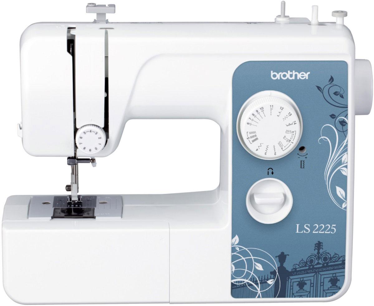 """Brother LS 2225 швейная машинаLS 2225Швейная машинка Brother LS-2225 отлично подходит для работы с различными видами материала – тканями средней плотности; тонкими тканями, такими как атлас или шаль; толстыми, такими как вельвет, джинса или твид; эластичными - трико и джерси, и даже легкоосыпающимися тканями. Модель предусматривает множество вариантов встроенных строчек, выбрать которые можно при помощи рукоятки управления – достаточно повернуть ее в любом необходимом направлении. Прямые строчки незаменимы для выполнения простых швов, также их можно использовать для отделки деталей одежды и при работе с легкими тканями. Для выполнения декоративных строчек пригодиться """"зигзаг"""". При этом, швейная машинка Brother LS-2225 предусматривает возможность установления длины стежка с помощью регулятора. Эластичная строчка как нельзя кстати придется для работы с эластичным материалом, соединения тканей или починки. Конструкция предусматривает плоскую платформу, которая легко снимается, образуя рукавную. На..."""