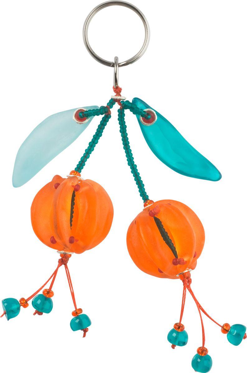Брелок Lalo Treasures, цвет: оранжевый, голубой. 47814781Брелок Lalo Treasures изготовлен из ювелирной смолы ярких цветов. Он оформлен яркими подвесными ягодками и крепится к кольцу с помощью крепкого шнурка. Оригинальный брелок подчеркнет вашу индивидуальность, а также станет отличным подарком для любительниц модных новинок в мире аксессуаров.