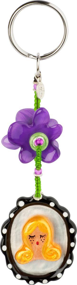 Брелок Lalo Treasures, цвет: желтый, фиолетовый. KR4858Брелок для сумкиБрелок Lalo Treasures изготовлен из ювелирной смолы ярких цветов. Он оформлен подвесными элементами и крепится к кольцу с помощью крепкого шнурка.Оригинальный брелок подчеркнет вашу индивидуальность, а также станет отличным подарком для любительниц модных новинок в мире аксессуаров.