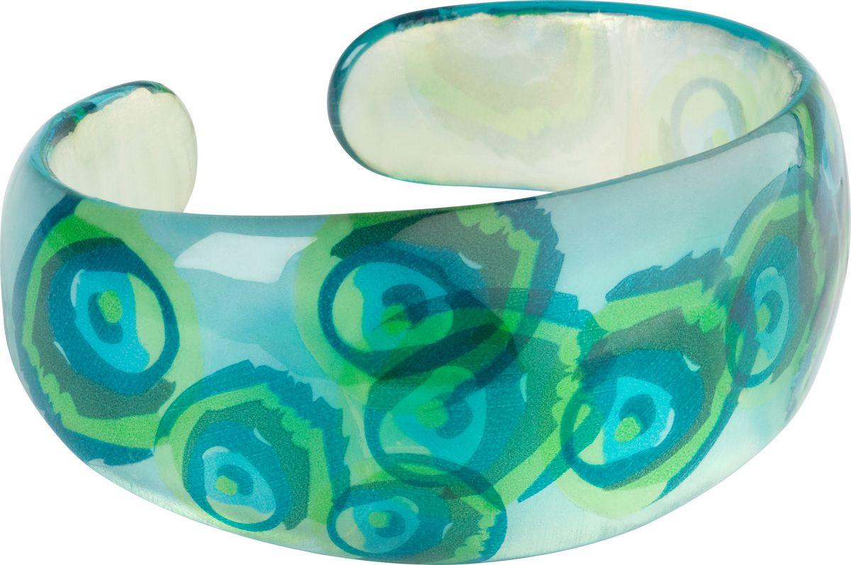 Браслет Lalo Treasures, цвет: бирюзовый. Bn2460/2sГлидерный браслетОригинальный браслет Lalo Treasures выполнен из ювелирной смолы и металлического сплава.Стильное украшение поможет дополнить любой образ и привнести в него завершающий яркий штрих.