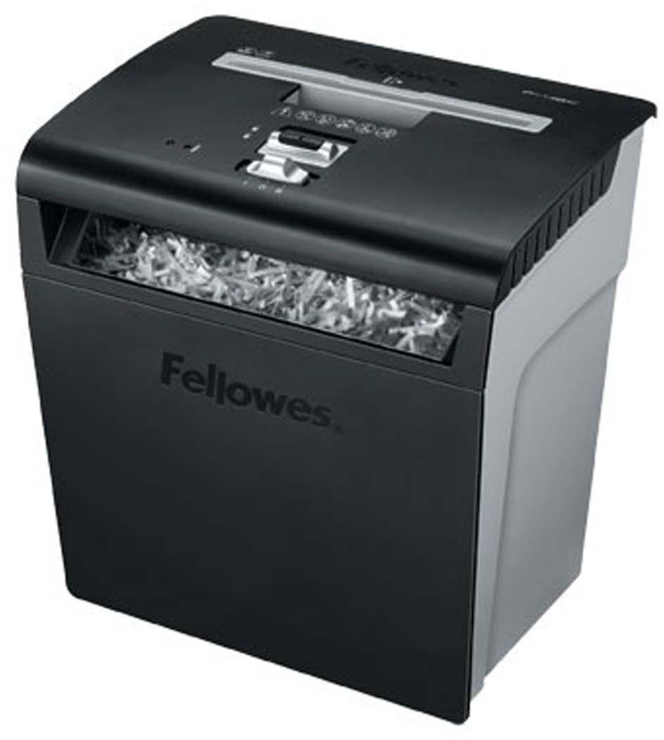 Fellowes Powershred P-48с, Black шредерFS-32148Powershred P-48C надежный и недорогой шредер для персонального использования с рекомендуемой нагрузкой до 60 листов в день и большой корзиной 18 литров. Производительность – 8 листов. Перекрестная резка на фрагменты размером 4х50мм обеспечивает P-3 уровень секретности по DIN 66399. Селектор количества листов позволяет быстро определить допустимую толщину стопки уничтожаемых листов.