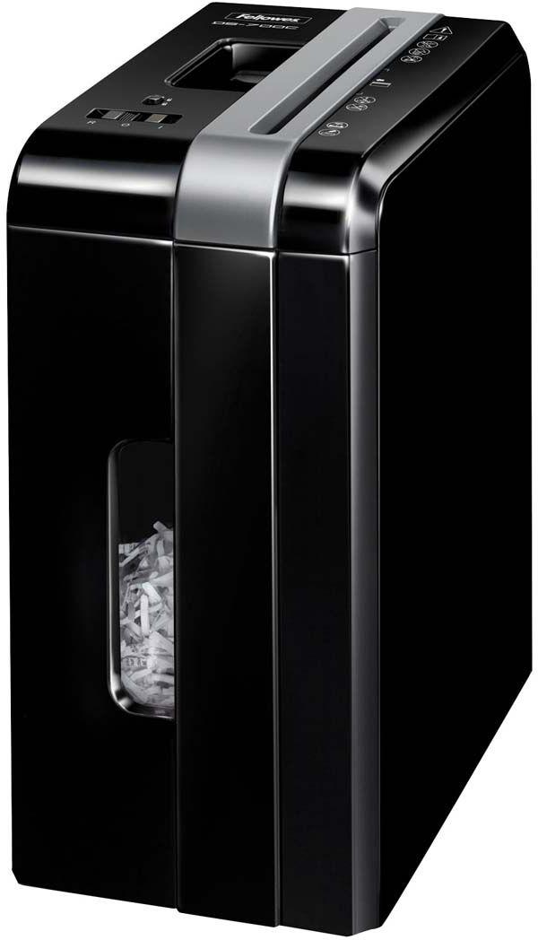 Fellowes Powershred DS-700C, Black шредерFS-34032Powershred DS-700C -компактный шредер с выдвижной корзиной для персонального использования с рекомендуемой нагрузкой до 50 листов в день. Производительность – 7 листов. Перекрестная резка на фрагменты размером 4х46мм обеспечивает P-3 уровень секретности по DIN 66399. Удобная выдвижная корзина позволит с легкостью удалять бумажные отходы. Окошко позволит оценить степень наполненности корзины.