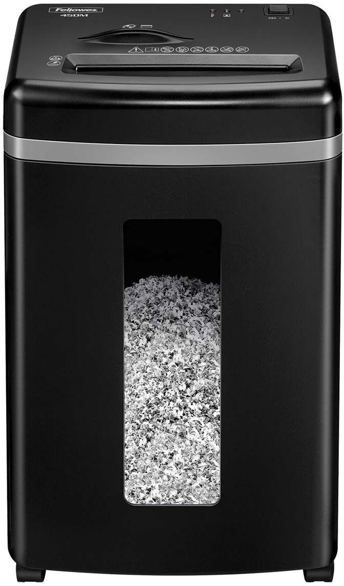 Fellowes MicroShred 450M, Black шредер FS-40741