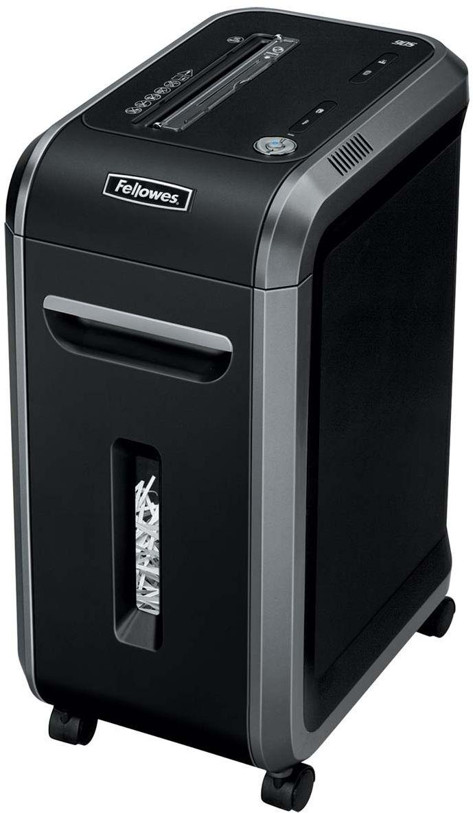 Fellowes Powershred 90S, Black шредерFS-46901Powershred 90S – производительный шредер для персонального или коллективного использования в малом офисе. Рекомендуемая нагрузка до 1500 листов в день.Производительность – 18 листов. Продольная резка на полосы шириной 5,8 мм соответствуют P-2 уровню секретности по DIN 66399.Вместительная корзина, широкие возможности уничтожения, длительный рабочий цикл, высокая скорость резки, низкий уровень шума благодаря функции Silent Shred и мобильность аппарата – все это делает его прекрасным помощником в деле уничтожения конфиденциальных данных.