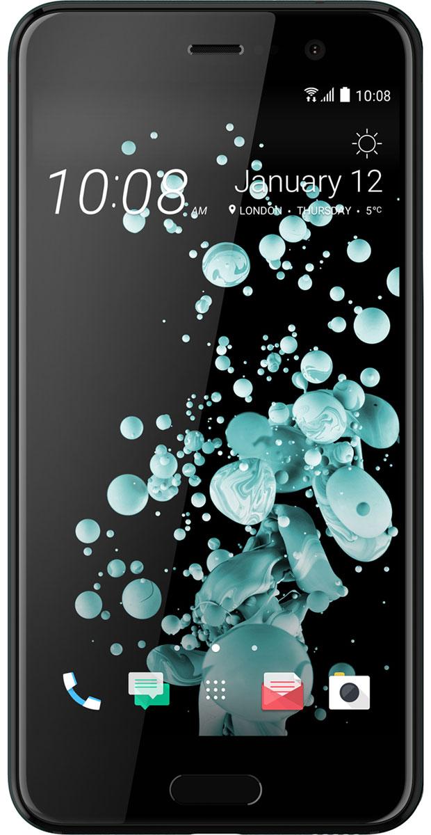 HTC U Play 32GB, Brilliant Black99HALV044-00HTC U Play - удивительный смартфон с экраном 5,2, который с легкостью ляжет в вашу ладонь. Его уникальный переливающийся дизайн создан, чтобы дать тебе свободу самовыражения. HTC Sense Companion - верный спутник, который постоянно обучается вашим привычкам и действиям, которые вы совершаете каждый день. Он может посоветовать одеться потеплее и выехать на работу чуть раньше, если прогноз погоды указывает на возможность снегопада; он напомнит взять с собой внешний аккумулятор, если в ваших планах значится длительная поездка; он подскажет отличный ресторан в незнакомом городе и поможет забронировать столик. Но главное, он постоянно меняется и совершенствуется, со временем узнавая вас лучше. HTC U Play поставляется со встроенной системой распознавания речи. Поэтому он способен узнать ваш голос и ответить. Достаточно лишь слова, чтобы разблокировать телефон, послать сообщение или начать навигацию. Функция HTC USonic анализирует строение ушного канала с...