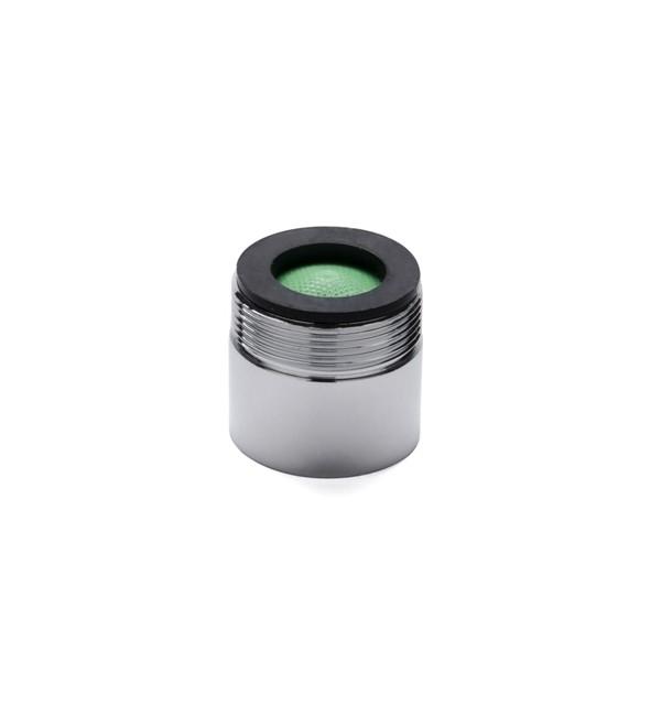 SoWash Металлический фильтр переходник (с внешней резьбой)17Аэрационный фильтр с переходником SoWash позволяет соединить систему SoWash с краном и обычно использовать кран, с фильтрацией и вентиляцией воды. Фильтр SoWash специально приспособлен для всех кранов согласно норм Uni-En 246, подходит к женской резьбе (внутренней). В упаковке содержится: - 1 металлический фильтр.