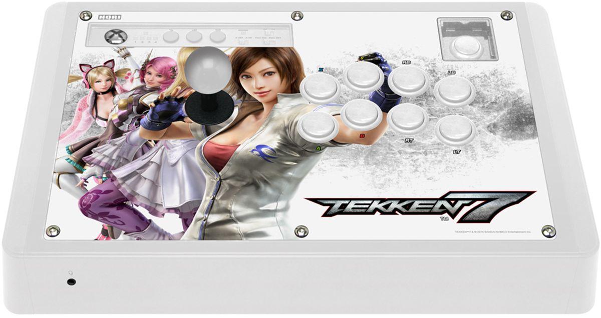 Hori Real Arcade Pro TEKKEN 7 Edition аркадный стик для XboxOneHR2Официальная лицензия Microsoft. Совместимость с Хbox One/360/PC. Программируемые кнопки и кнопка турбо. Аутентичные джойстик-рычаг и кнопки «Hayabusa». Официальная лицензия от TEKKEN 7.