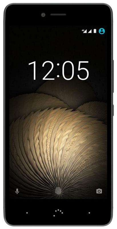 BQ Aquaris U Plus 32GB, Black Anthracite GrayBQ U Plus 4G (32+3GB) black/greyAquaris U Plus - первый смартфон BQ выполненный из металла. Изогнутые линии - это не просто дань элегантности, они обнимают экран смартфона, делая его более эргономичным. Производственный процесс начинается с тщательной прорисовки каждой детали и заканчивается процессом анодирования и пескоструйной обработкой алюминия, что позволяет получить идеальный цвет, полированную текстуру и сделать смартфон невероятно приятным на ощупь. Результат - легкое, но прочное устройство. Камера Aquaris U Plus не только идеальный спутник в повседневной жизни, вам также захочется использовать ее и в особых случаях. Вам не нужен больше фотоаппарат, потому что 16 МП камера, благодаря 5 линзам Largan и апертуре f/2.0 поможет вам делать четкие снимки, отличающиеся сочными цветами и удивительно высоким уровнем детализации. Делайте фотографии в движении благодаря фазовому автофокусу (PDAF) и получайте высококачественные изображения, с помощью функции HDR (High Dynamic...