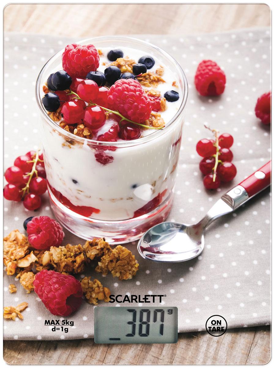 Scarlett SC-KS57P22 Healthy Breakfast весы кухонные