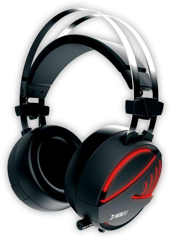 Gamdias Hebe Stereo RGB игровые наушникиHEBE E1 STEREORGB Подсветка. Звук стерео. Диаметр динамика 40 мм. Чувствительность 116 dB + / - 3 dB. Сопротивление 32 Ом. Чувствительность микрофона 58 + / - 3 dB. Материал корпуса пластик. Материал амбушюр кожа. Интерфейс USB и 3.5 мм коннектор микрофон/аудио Кабель 1.9 м. Размеры микрофона 6,0 х 5,0 мм.