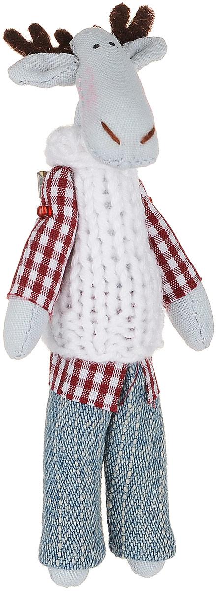 Брошь Голубой лось в белоснежном свитере, 9 х 3 см. Ручная работа. Автор Леся КелбаВАН_KELBA_23Оригинальная брошь Лось в свитере изготовлена из качественного текстиля. Брошь выполнена в виде фигурки симпатичного животного с подвижными лапками. Товары KELBA создается вручную и с хорошим настроением, чтобы вам принести позитив и удовольствие. Тип крепления - булавка с застежкой. Брошь можно носить на одежде, шляпе, рюкзаке или сумке. Ручная работа. Автор Леся Келба. Просим обратить ваше внимание на то, что работа, выполненная на заказ, может незначительно отличаться от представленной на фото, так как это авторская работа.