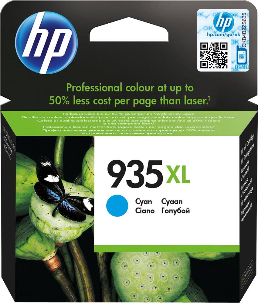 HP C2P24AE (№ 935XL), Cyan картридж для Officejet Pro 6830 e-All-in-One(E3E02A)/HP Officejet Pro 6230 ePrinter E3E03A)C2P24AEОригинальные струйные картриджи HP увеличенной емкости разработаны для печати цветных документов неизменно высокого профессионального качества при низкой стоимости страницы по сравнению с лазерными принтерами. Картриджи, специально разработанные для использования с вашим принтером HP, позволят создавать долговечные документы. Замена оригинальных струйных картриджей HP требует минимум усилий и времени.