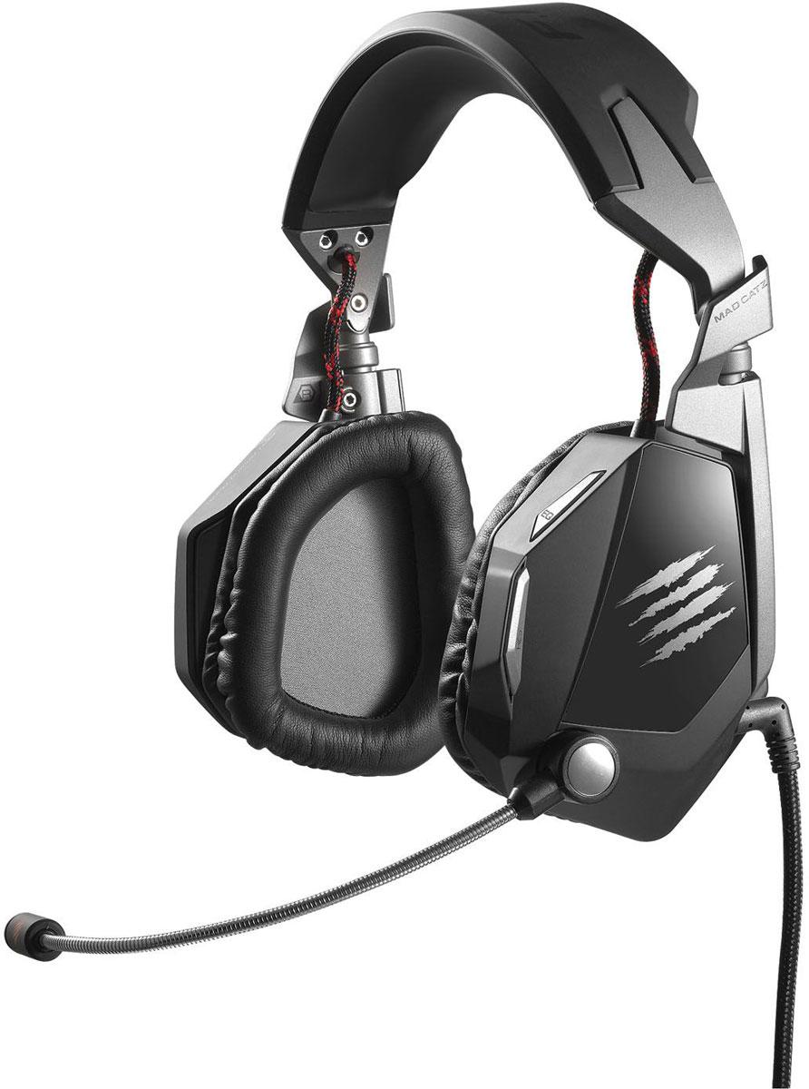 Mad Catz F.R.E.Q.5 Stereo Headset, Black игровые наушникиPCA176Игровая стерео-гарнитура Mad Catz F.R.E.Q.5 создана для комфортной игры, которая станет теперь еще более приятной. Ее использование разрушит грань между реальным и виртуальным миром. Погрузитесь в игру с гарнитурой F.R.E.Q. Насладитесь любимыми играми и полностью погрузитесь в звуки битвы с игровой стерео гарнитурой Mad Catz F.R.E.Q.5 для ПК и Mac. Благодаря высококачественным 50 мм неодимовым динамикам, интуитивно размещенным органам управления и съемному микрофону с функцией шумоподавления, F.R.E.Q.5 воспроизводит мощный детализированный звук и обеспечивает максимальный комфорт во время длительных игровых сессий. Мощный стерео звук Большие динамики воспроизводят мощный стерео звук в широком диапазоне частот, а удобные большие чашки наушников обеспечивают невероятно чистое и четкое воспроизведение звука. Детали звукового окружения, которые были недоступны вашему слуху – малейшие шорохи или крадущиеся шаги противника – сделают погружение в игру еще...